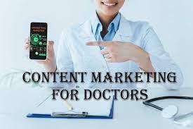 Content Marketing for Doctors blogging
